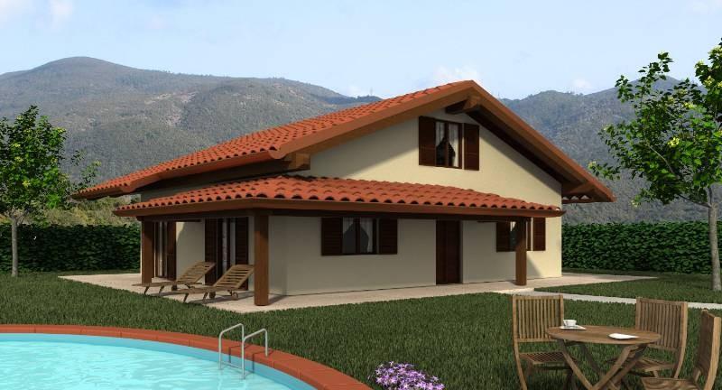 Costo case in legno costo tettoia in legno al mq con for Casa in legno costo totale